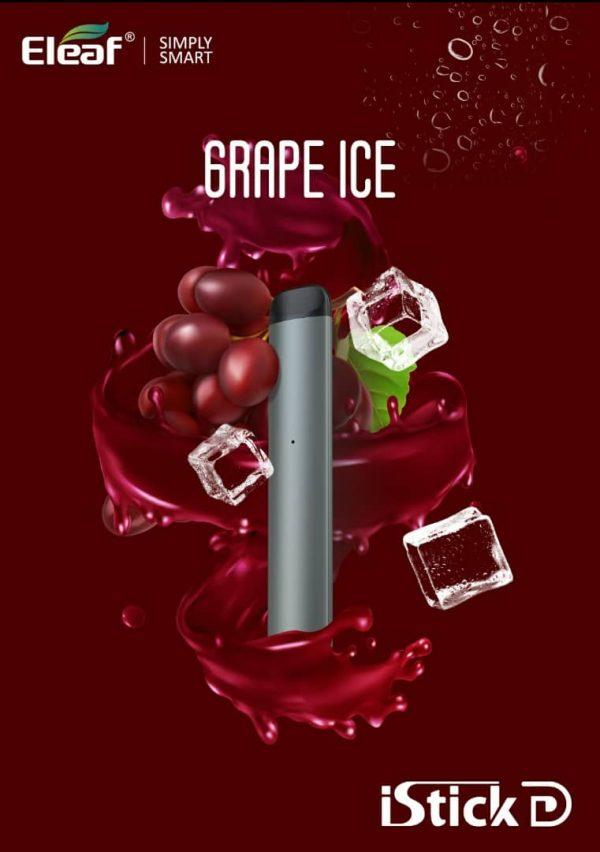 Grape Ice Vape Eleaf iStick D Disposable Pod