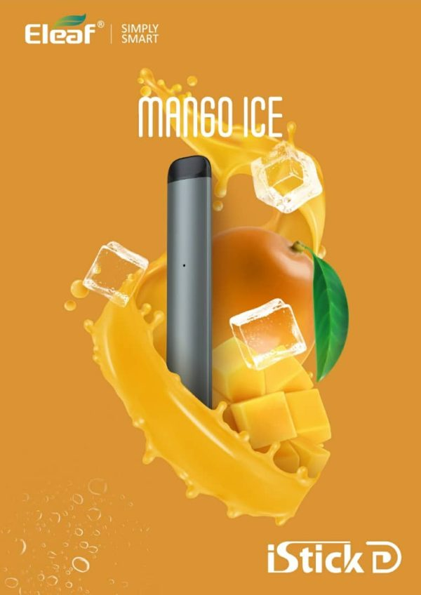Mango Ice Vape Eleaf iStick D Disposable Pod