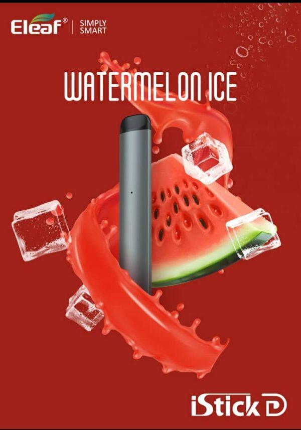 Watermelon Ice Vape Eleaf iStick D Disposable Pod