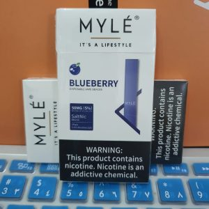 Myle Blueberry Disposable Device New