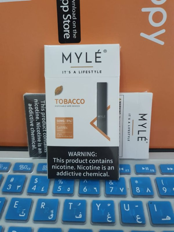 Myle Tobacco Disposable Device New