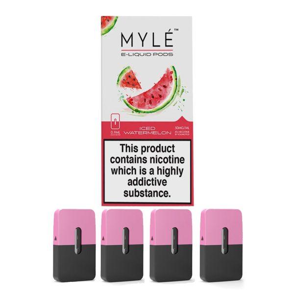 Myle Pod Iced Watermelon 5% Original 4pc/pack