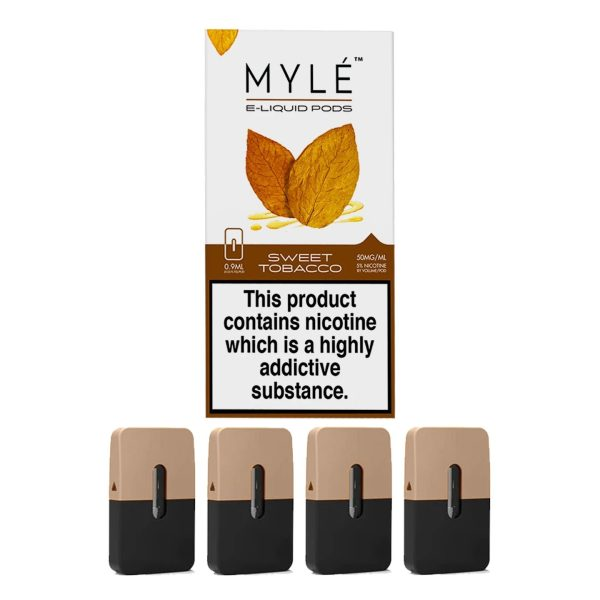 Myle Pod Sweet Tobacco 5% Original Pods 4 Pack