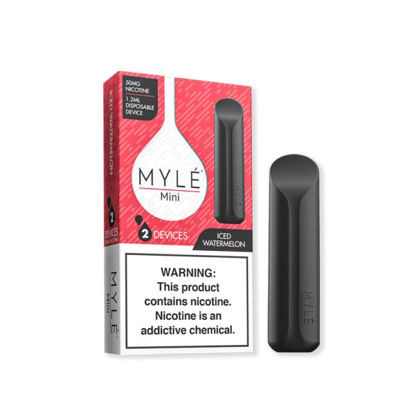 Myle Mini Vape Iced Watermelon