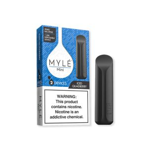 MYLE Mini Iced Quad Berry Disposable Device