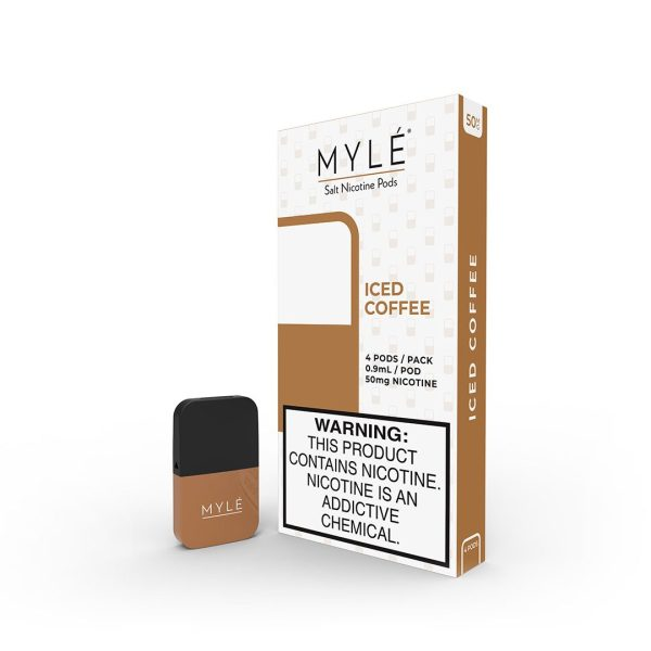MYLE Iced Coffee Vape Magnetic Pods