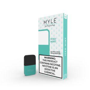 New MYLE Iced Mint Vape Magnetic Pods