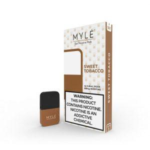 MYLE Sweet Tobacco Vape Magnetic Pods