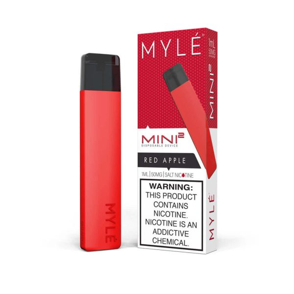 MYLE Mini 2 Red Apple Disposable Device