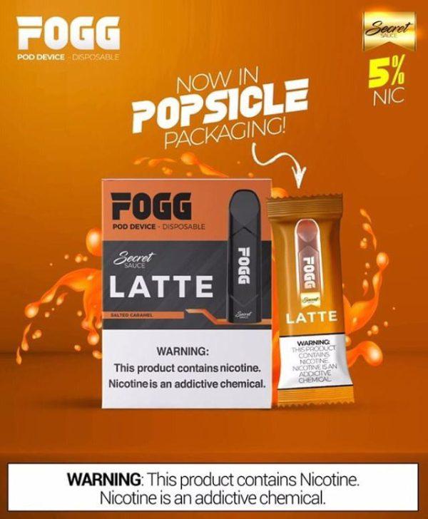 Fogg Latte Disposable Device