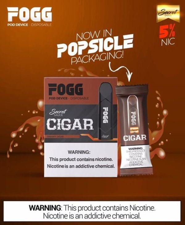 CIGAR FOGG - DISPOSABLE PODS