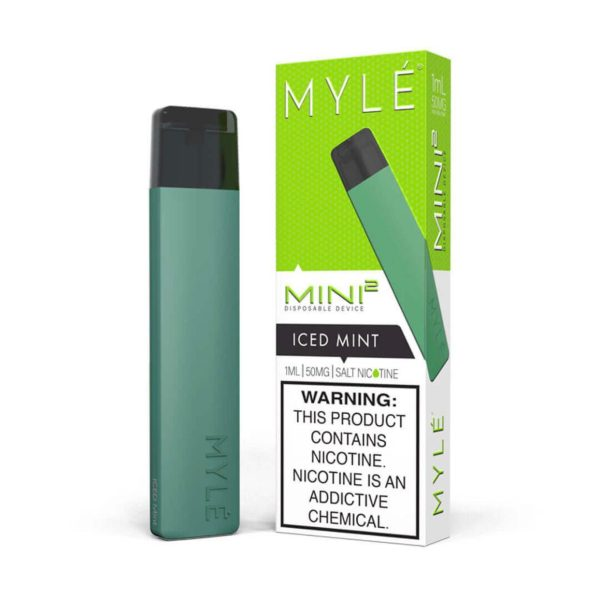 MYLE Slim Kit Iced Mint Disposable Device