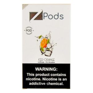 Iced Orange Ziip Pods for Juul Devices
