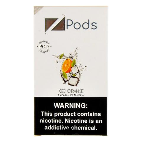 Iced Orange Ziip Pods for Juul Devices