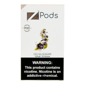 Iced Blueberry Ziip Pods for Juul Devices