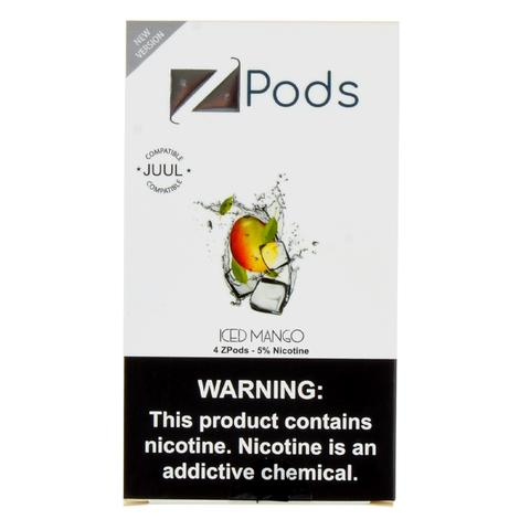 Ziip Pod Iced Mango 5% for Juul Device 4pc/pack