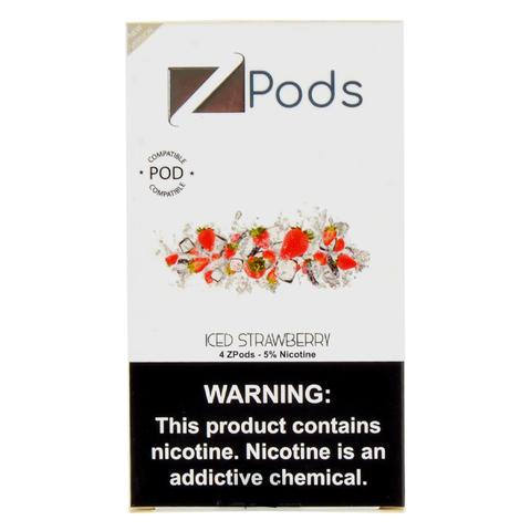 Iced Strawberry Ziip Pods Juul Device