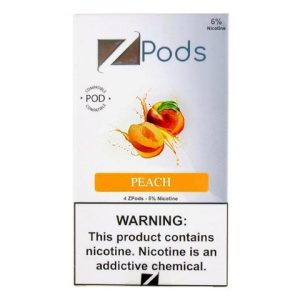 Peach Ziip Pods for Juul Device