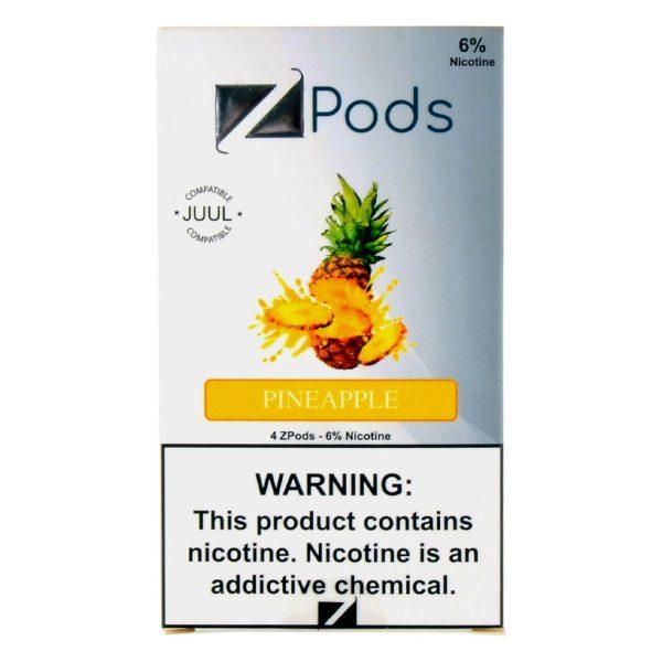Pineapple Ziip Pods for Juul Device
