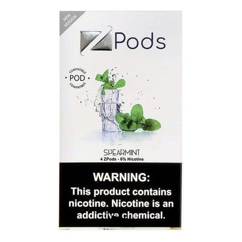 Spearmint Iced Ziip Pods for Juul Devices