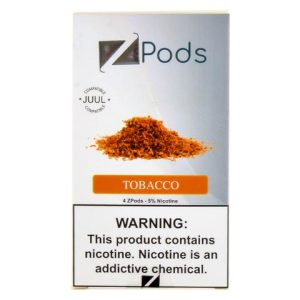Tobacco Ziip Pods for Juul Devices