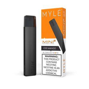 MYLE Mini 2 Iced Mango Disposable Device