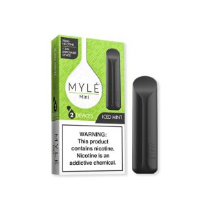Best Myle Mini Iced Mint New Disposable Vape Device