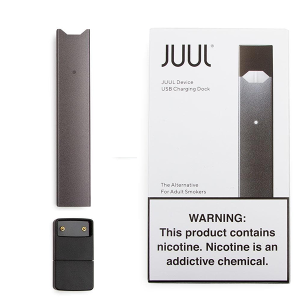 JUUL ORIGINAL DEVICE SLATE BLACK FROM USA MADE
