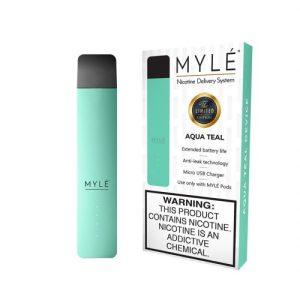 Aqua Teal Myle Vape Magnetic Devices