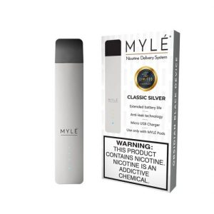 MYLE Classic Silver Vape Magnetic Devices