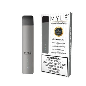 MYLÉ GunMetal Vape Magnetic Devices