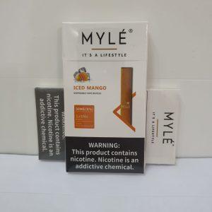 Myle Iced Mango Disposable Vape Device