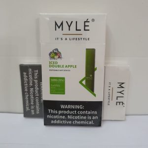 Myle Iced Double Apple Disposable