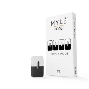 Myle Empty Pods 0.9ml Original Pods in Dubai 4pc