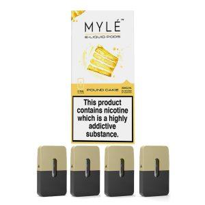 Myle Pod Pound Cake 5% Original Pods-4pc/pack