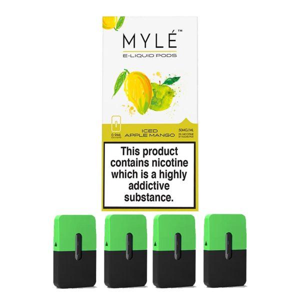 Myle Pod Iced Apple Mango 5% Original 4pc/pack