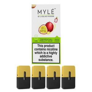 Myle Pod Tropical Fruit Mix 5% Original 4pc/pack