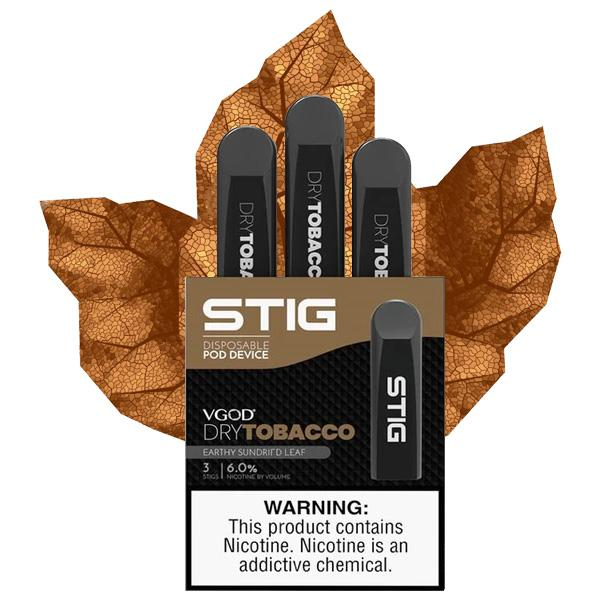 VGOD Stig Dry Tobacco Disposable