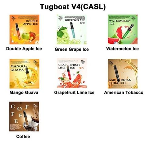 Tugboat V4 Disposable Pod Device