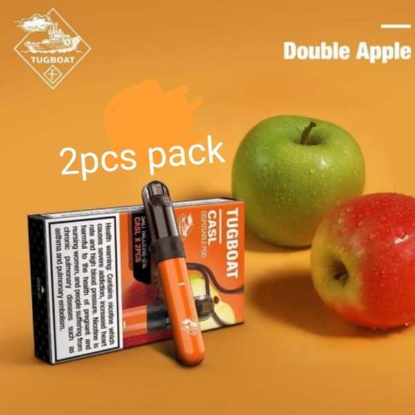 Tugboat V4 Double Apple Ice Pack of 2