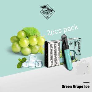 Tugboat V4 CASL Green Grape Ice