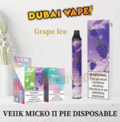 Veiik Micko Π Pie Grape Ice Disposable Vaporizer